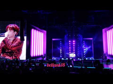 181006 (VCR+ SUGA Solo: Seesaw) BTS 'LOVE YOURSELF TOUR CITIFIELD' NY