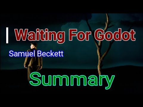 Waiting For Godot by Samuel Beckett Summary  | Learn English Through Story