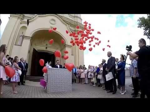Balony z helem z pudla niespodzianki www.fabrykaslubu.pl