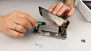 Разборка iPhone 6s. Недостаточно памяти, как увеличить память? Копия iPhone 6s.(, 2016-02-28T11:26:27.000Z)