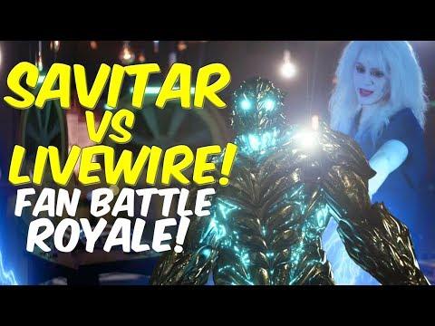 Savitar VS Livewire! WHO WINS? FAN BATTLE ROYALE!