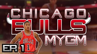 NBA 2K14 Next Gen PS4 My GM Mode Ep.1 - Chicago Bulls ft. Derrick Rose| NBA 2K15 Rosters
