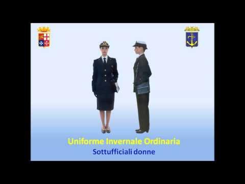 Divise della Marina MIlitare Italiana