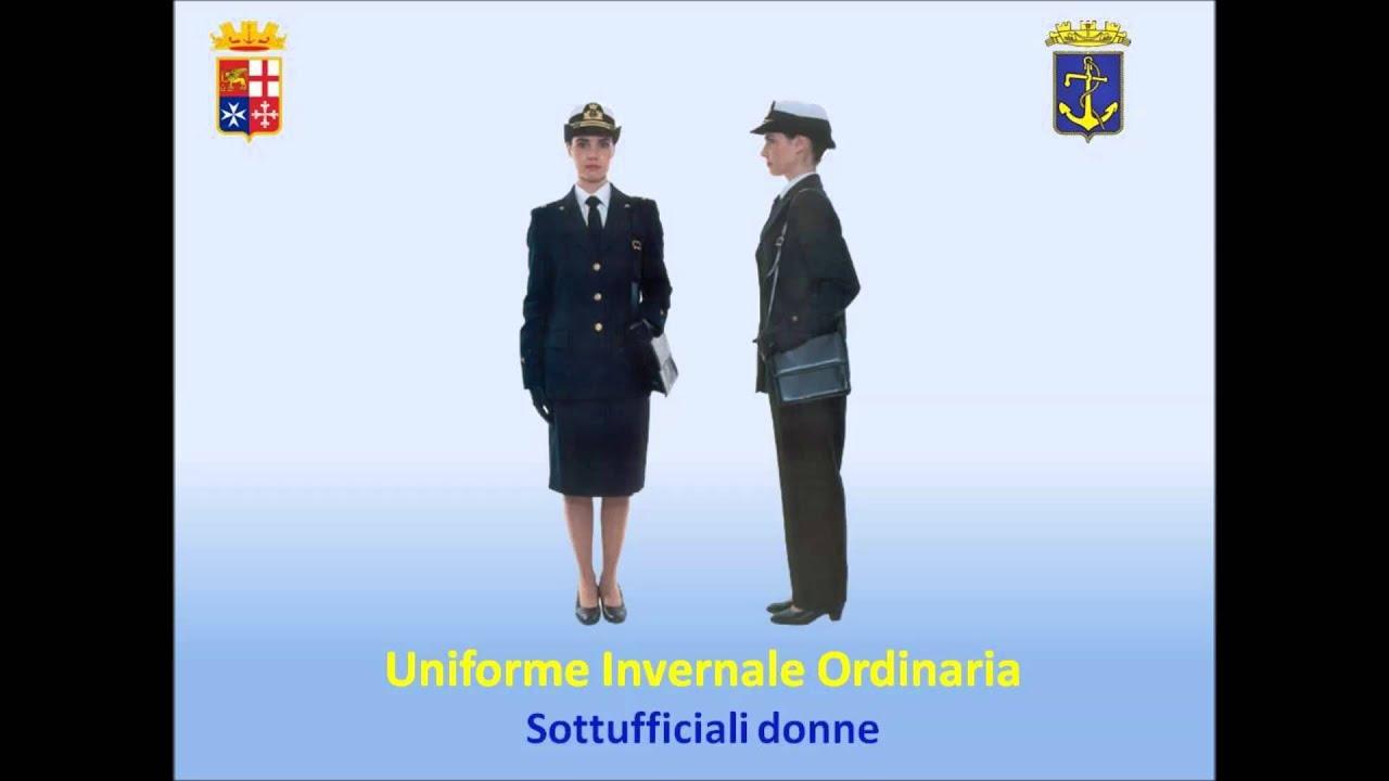 Divise della Marina MIlitare Italiana  YouTube