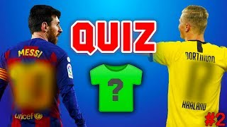 Can you guess tнe footballer's shirt number? #2 ⚽️ FOOTBALL QUIZ 2020