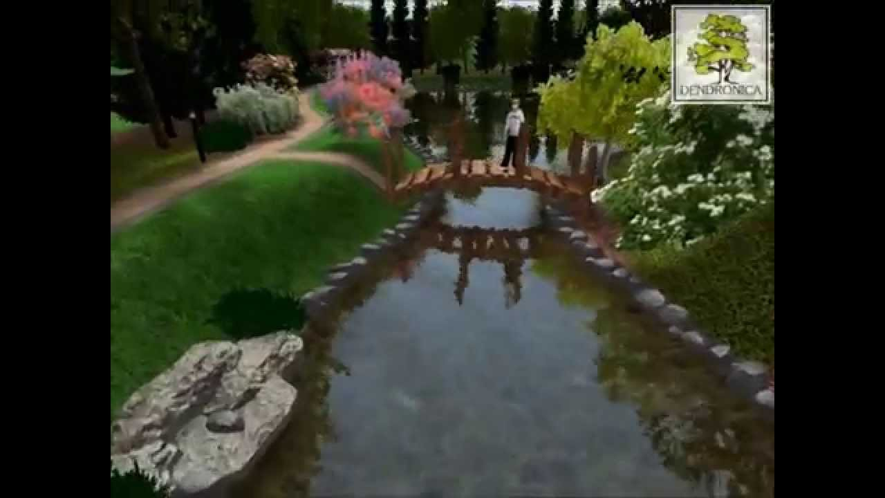 3d Landscape Design Residence Garden Youtube