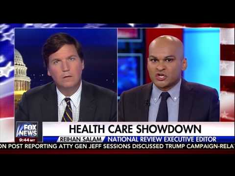 Conservative Intellectuals Starting to Favor Single-Payer Heath Care (Tucker Carlson Jul 21, 2017)