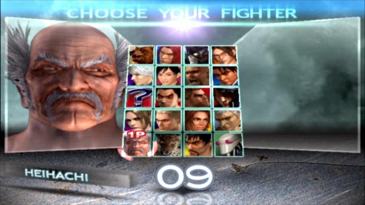 Tekken 4 Heihachi Mishima