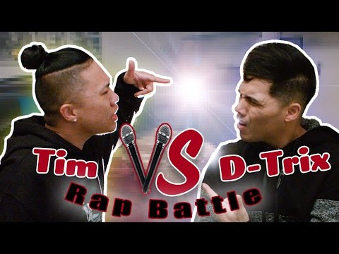 YOUTUBER RAP BATTLES: D-TRIX VS. TIMOTHY DELAGHETTO