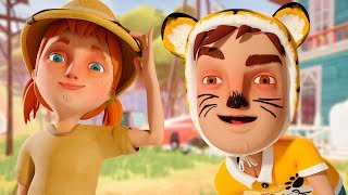 OS FILHOS DO VIZINHO (Hello Neighbor Hide and Seek Fase 1)