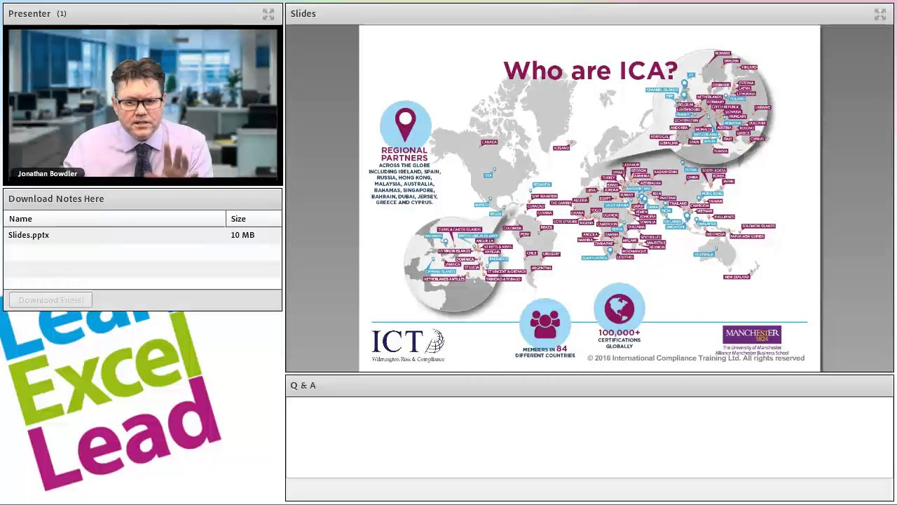Live Q&A - Studying ICA qualifications with International ...