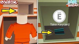 """SECRET KEYCARD LOCATIONS FAST & EASY IN JAILBREAK"" (Roblox Jailbreak How To Get Keycard, Money)"