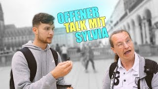 Offener TALK mit SYLVIA !..😱| STREET COMEDY | Denizon