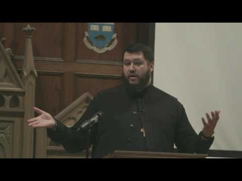 1- Fr. Theodore Paraskevopoulus at Resurrection of Logos in Toronto, March 2017