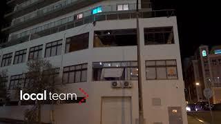 Uragano Leslie, a Figueira da Foz persino edifici gravemente danneggiati