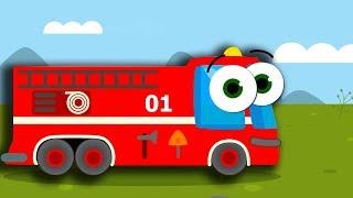 Мультики. МАШИНКИ. Пожарная машинка. Полицейская машина. Скорая помощь. Такси. Все серии