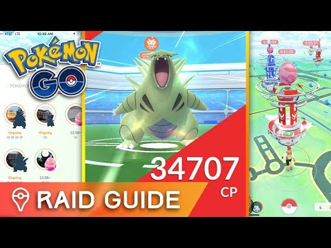 POKÉMON GO RAID GUIDE ✦ HOW TO RAID, NEW ITEMS, RAID BOSS STRATEGY & GAMEPLAY