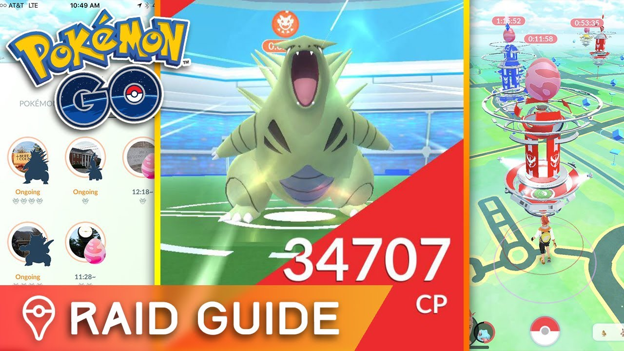 Pokemon Go raids explained: everything you need to know