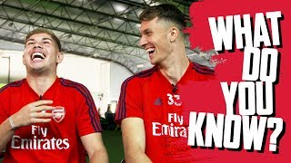 NAME ARSENAL ACADEMY GRADUATES | What Do You Know? | Emile Smith Rowe v Matt Macey