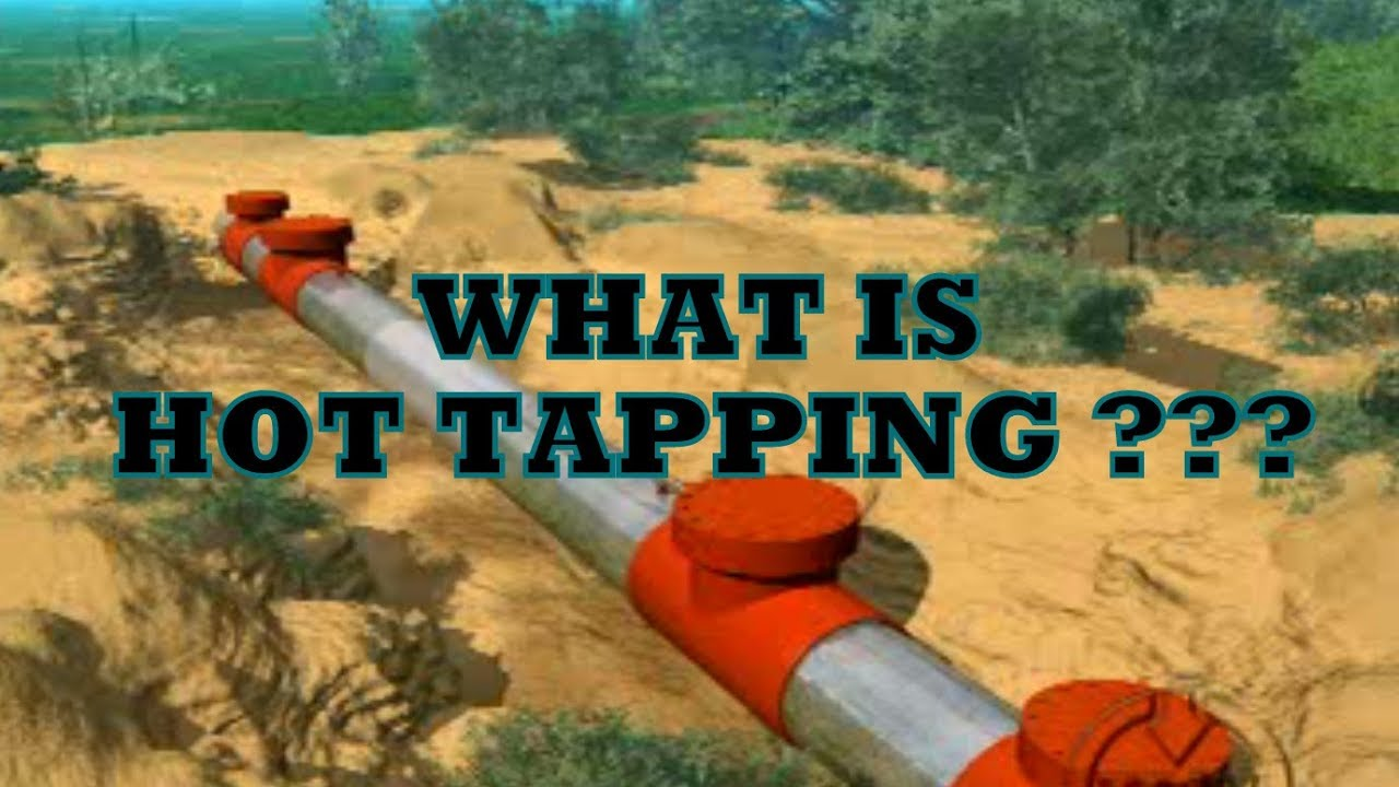 Hot Tapping in Pipelines   T.D. Williamson - YouTube
