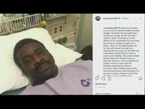 Michael Irvin asks for prayers after he undergoes tests for throat cancer