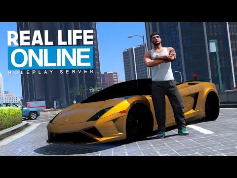 HABUB im LAMBO CABRIO! - Real Life Online