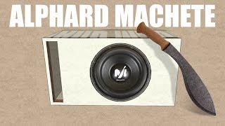 ПРОСТОЙ расчет Ящика для Alphard Machete M12/Альфард Мачете М12