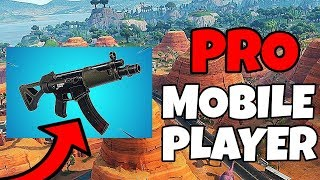 FAST BUILDER // New Submachine Gun // 100+ Wins // Fortnite On Mobile Gameplay // Fortnite Android