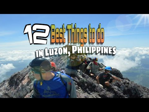 12 Best Things to do in Luzon, Philippines.