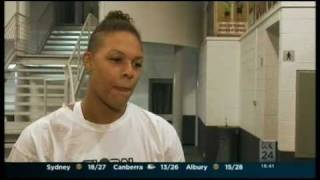 Liz Cambage Feature Story on Contact Sport