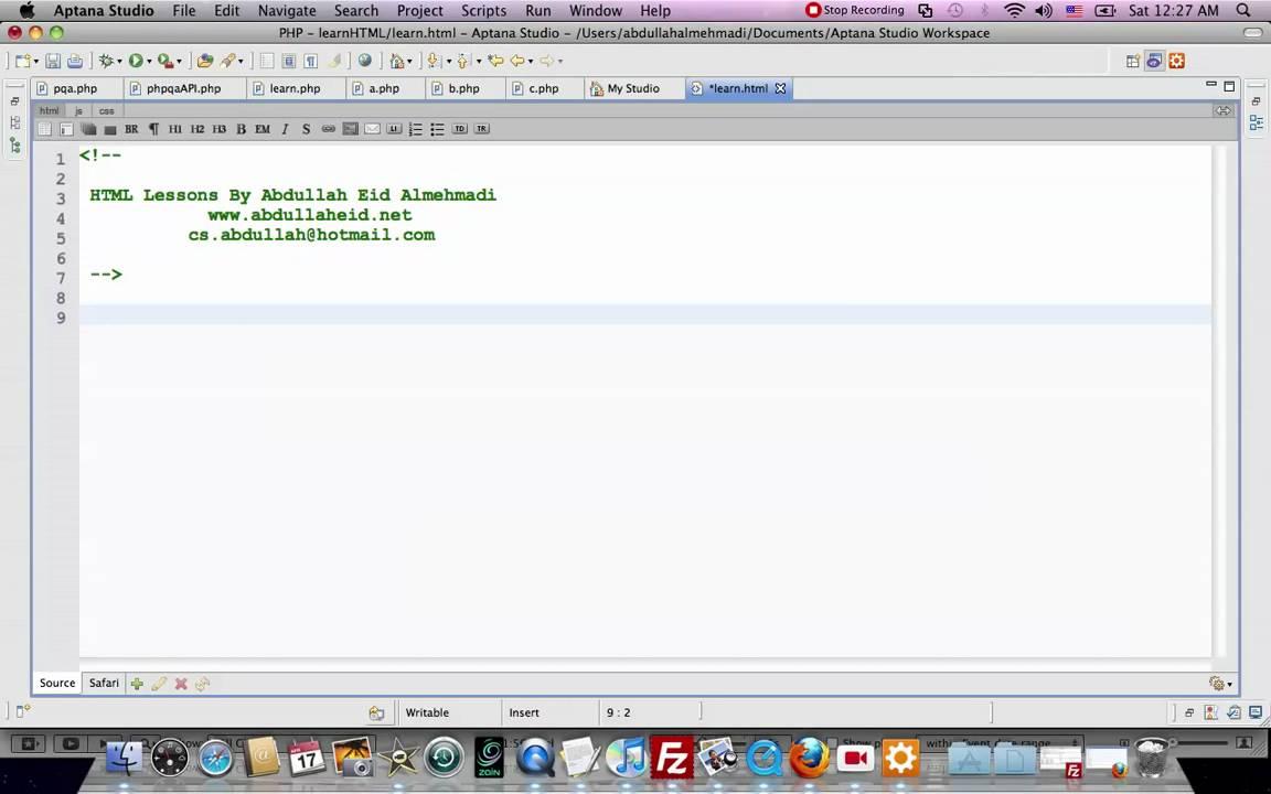 دورة في لغة HTML