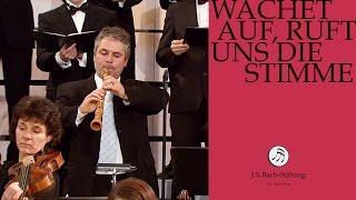 J.S. Bach - Cantata BWV 140 - Wachet auf, ruft uns die Stimme - 1 - Chorus (J. S. Bach Foundation)