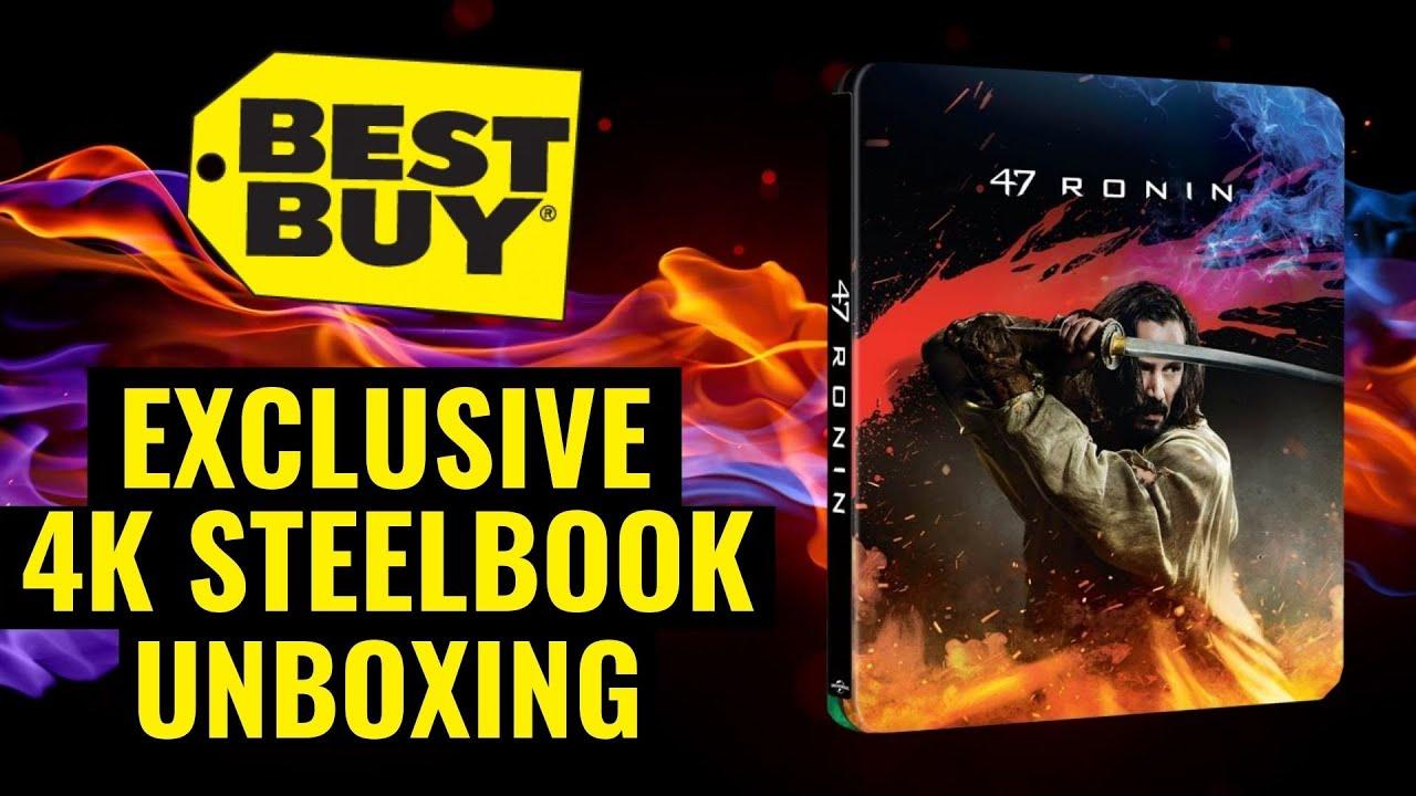 Download 47 Ronin Best Buy Exclusive 4K Ultra HD Steelbook Unboxing