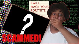 "I Bought an ""IRL Fortnite Package of a Fortnite Hacker"" & i got SCAMMED"