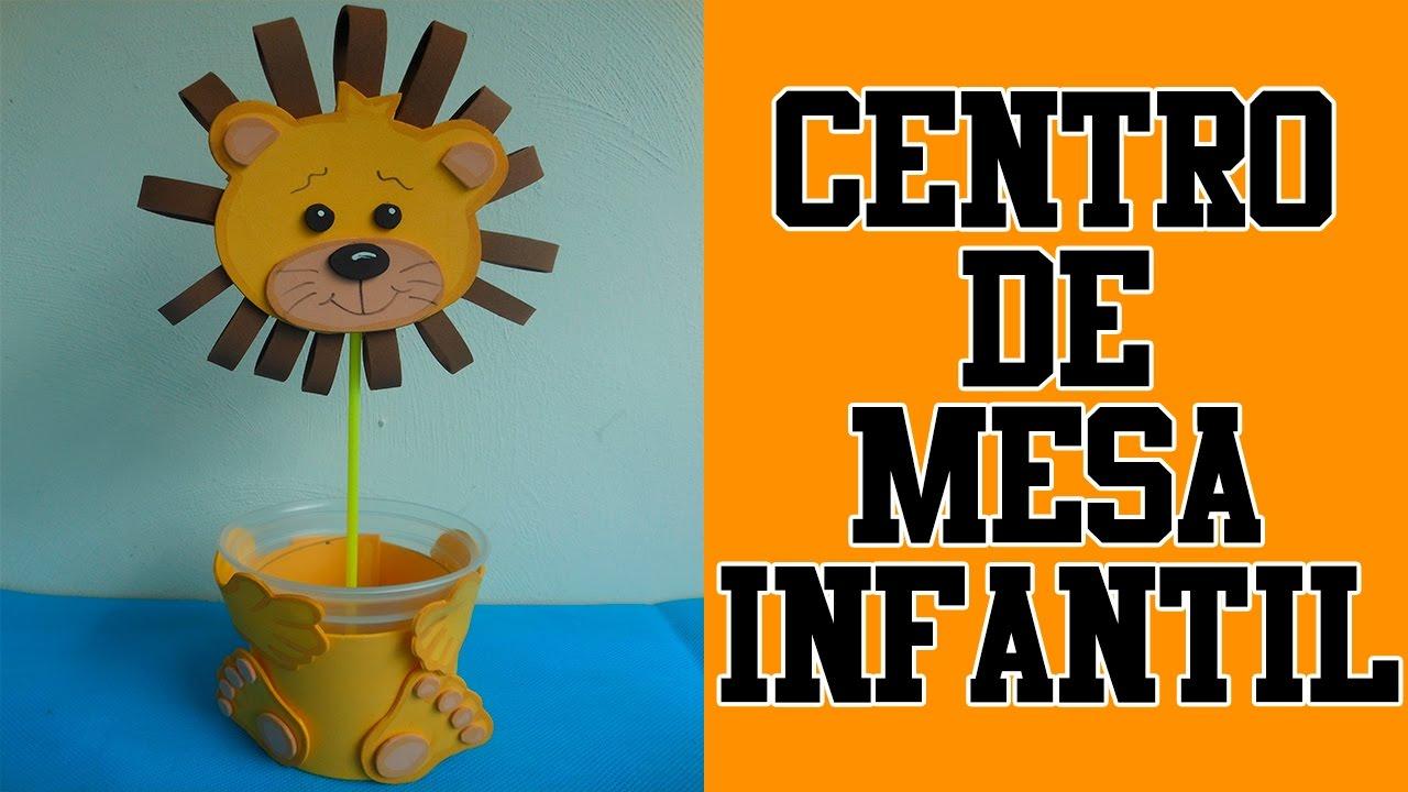 Centro de mesa infantil children 39 s table center youtube - Centro de mesa infantil ...