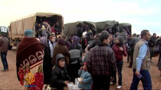 Fighting stops Syrians from escaping