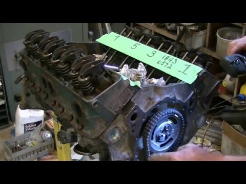 How to Adjust Hydraulic Lifters V8 - Chevy / Ford / Mop ...