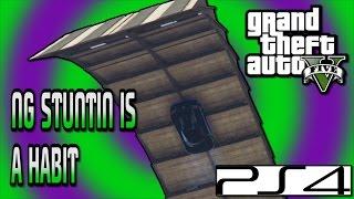 GTA Custom Race - STUNTIN IS A HABIT