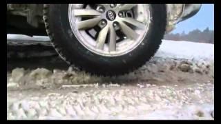 Test-drive KIA Sportage New 2012 (Off road, Winter) -  kiaclub.ru