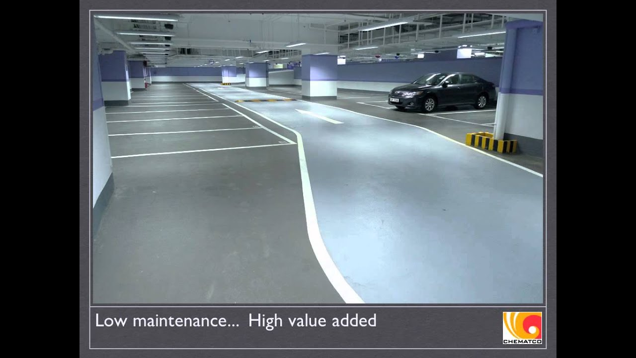 Tsuen Wan Plaza, Hong Kong. Car Park Epoxy Flooring by ...