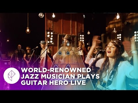World-renowned jazz musician checks out Guitar Hero Live