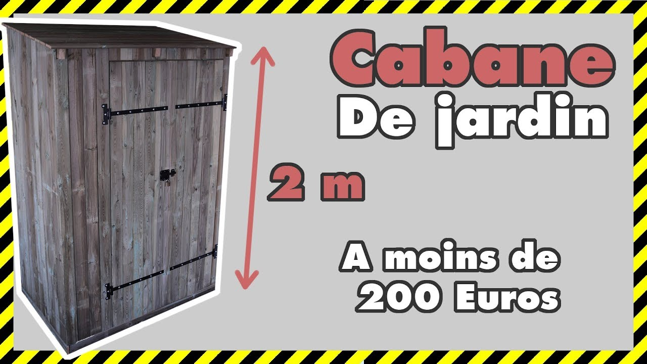 diy 12 comment faire un abri de jardin pas cher parti 1 2 youtube. Black Bedroom Furniture Sets. Home Design Ideas