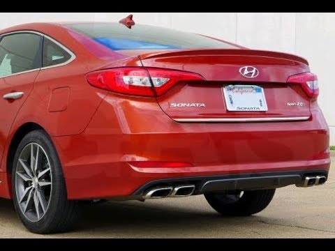 How to unlock the trunk of a 2015 Hyundai Sonata