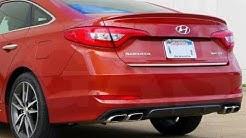 How to unlock the trunk of a 2015 Hyundai Sonata