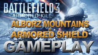Battlefield 3 - Armored Kill - Conquest Gameplay - Alborz Mountains & Armored Shield (PC) 2560x1600