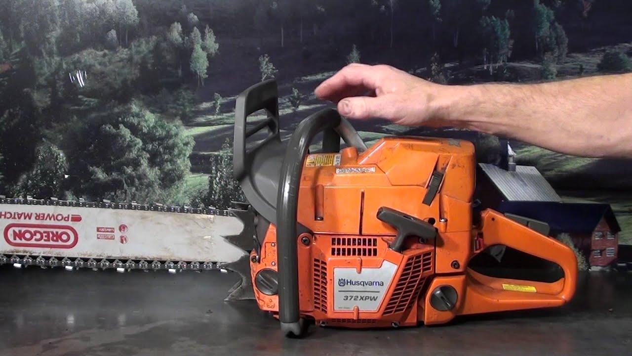 The Chainsaw Guy Shop Talk Modified Husqvarna 372 X Torq