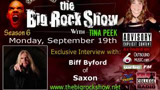 Interview with Biff Byford of Saxon