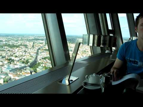 Revolving restaurant in the TV Tower, Berlin