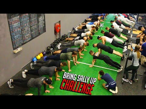 Bring Sally Up Challenge - PUSH UP (EXTREME!)