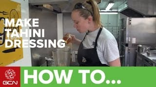 How To Make A Tahini Sauce - Tahini Salad Dressing And Dip Recipe